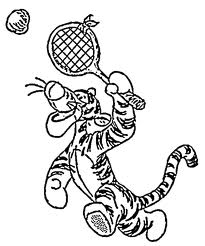 Coloriages tennis